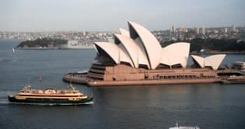 L'opéra house de Sydney en Australie