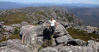 La montagne en Tasmanie