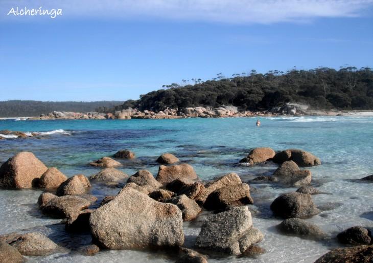 Les plages de la Tasmanie