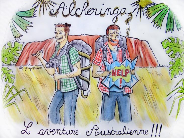 Dessin illustrant le projet Alcheringa