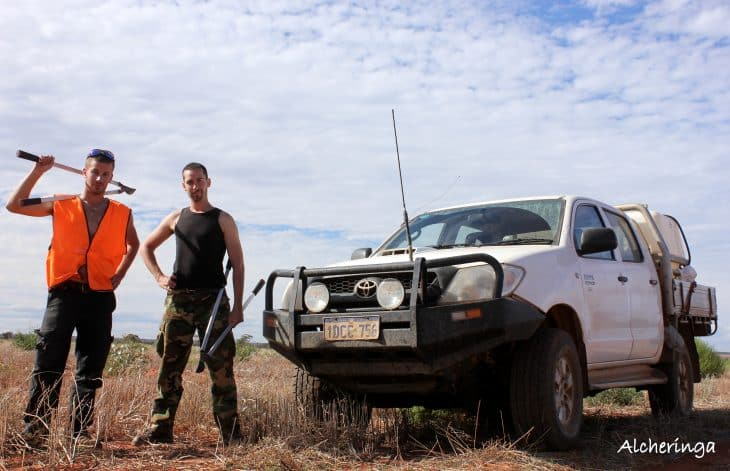 Notre deuxième job en Australie