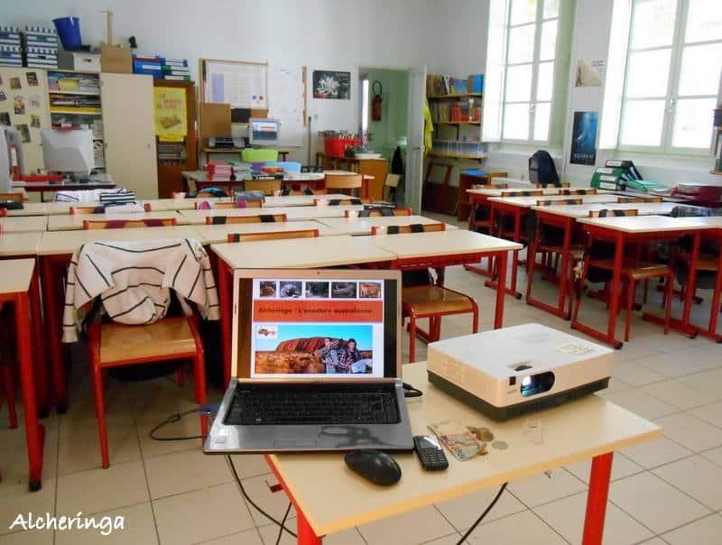 Intervention dans les écoles
