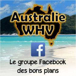 Groupe d'entraide PVT/WHV Australie sur Facebook