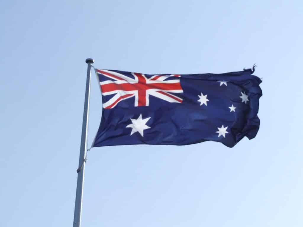 Australian Flag - By Brian Costelloe (CC-AT-NC)