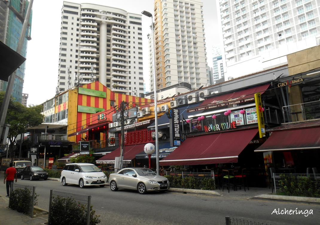 Changkat Street à Kuala Lumpur
