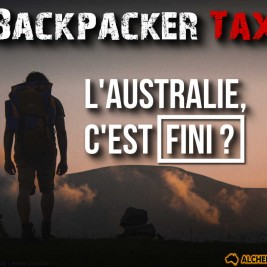 Backpacker tax WHV Australie Blog Alcheringa