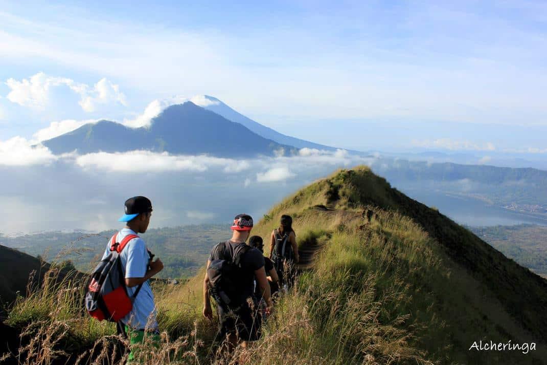 Au sommet des volcans de Bali avec nos hôtes indonésiens