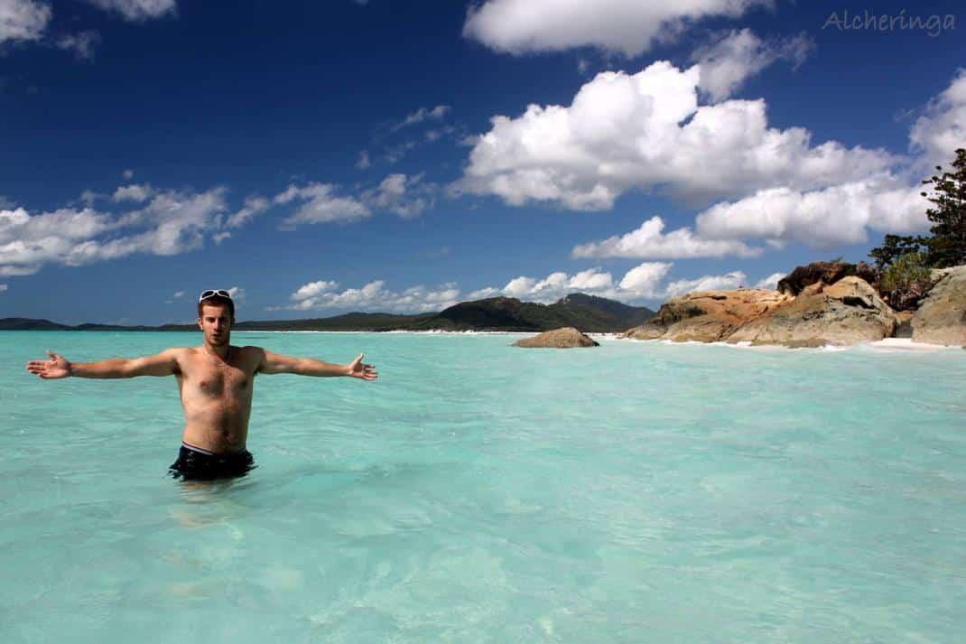 Après l'effort le réconfort sur la côte Est de l'Australie (WhitSundays Island)