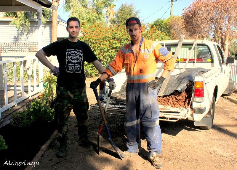 Wwoofing du coté de Perth chez nos hôtes australiens