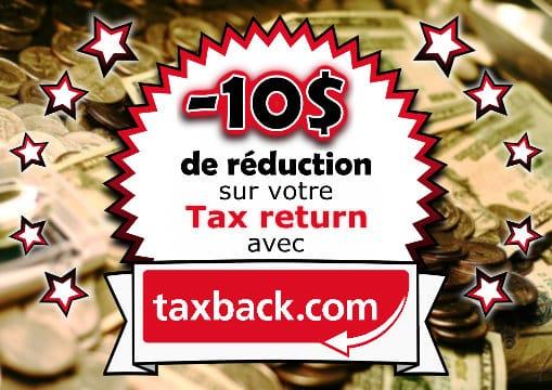 Réduction Taxback